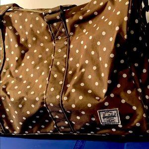 Crossbody bag Hershel polka dot white